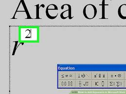 image titled add exponents to microsoft word step 17