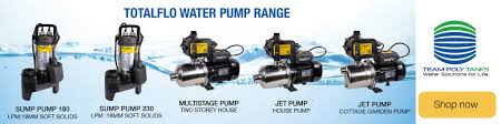 consider when ing a water tank pump