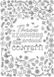 Free Printable Kindness Coloring Pages
