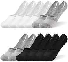 Rovtop 12 Pairs Cotton <b>Low</b> Cut Socks, <b>Unisex Non</b> Slip Breathable ...