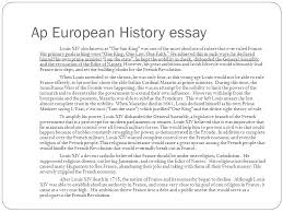 andrew george mcgee ap english a ppt video online  ap european history essay
