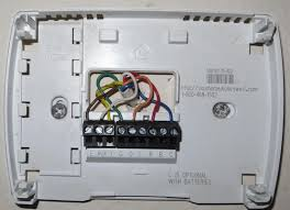 honeywell rth111 wiring diagram honeywell download wirning diagrams how to install honeywell non programmable thermostat at Honeywell Digital Thermostat Wiring Diagram