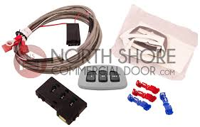 homelink gate and garage door opener remote kit with gray face