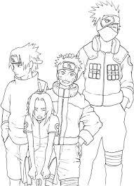 Download Naruto And Sasuke Coloring Pages Naruto Coloring Book