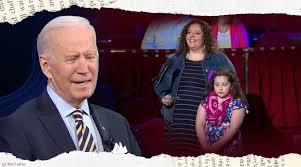 'Don't be scared, honey': US President Joe Biden reassures <b>little girl</b> ...