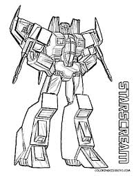 Small Picture Transformers Coloring Pages 2 Coloring Page