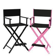 folding metal directors chairs. aluminum frame makeup artist chair black/pink color outdoor furniture lightweight portable folding director camping metal directors chairs
