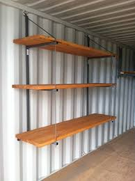 shelving container shelving display
