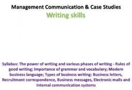 business communication report writing skills communication