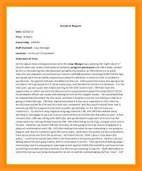 12 13 Samples Of Incident Reports Loginnelkriver Com