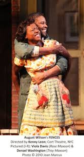 fences august wilson rose   how to make fencefences  a curtainup review   curtainup com   on line theater
