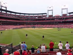Busch Stadium Lower Right Field Bleachers 105 Seat Views