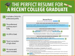 Examples Of College Graduate Resumes 24 College Grad Resume Examples Graphicresume 12