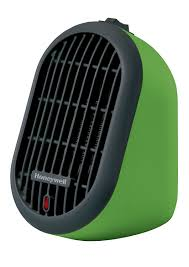 com honeywell hce100g heat bud ceramic heater green home kitchen