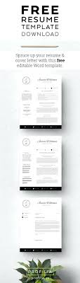 Resume Cover Letter Template Download template Editable Cover Letter Template 52