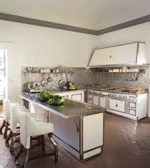 Kitchens With Brick Floors Metal Backsplash Mode Other Metro Victorian Kitchen Inspiration