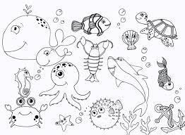 Small Picture Under Sea Coloring Pages high quality