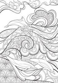 Art Deco Mandala Coloring Page Coloring Books For Adults Adult