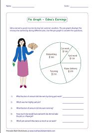 Pie Chart Activities Worksheets Pie Graph Worksheets