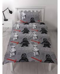 this official lego star wars seven single duvet cover and pillowcase set features lego kylo ren
