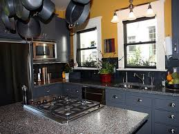 painted kitchen cabinets with black appliances. Delighful With Image Of Paint Colors For Kitchen Cabinets Modern With Painted Black Appliances E