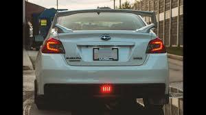 Wrx F1 Fog Light Ijdmtoy Usdm F1 Style Subaru Wrx Rear Fog Light