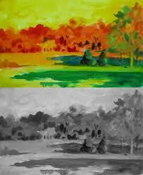 watercolor plein air color wheel two