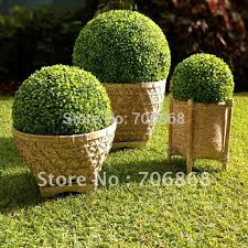 Decorative Boxwood Balls 100'' Diameter Pack Of 100 Free Shipping Artificial Plastic Boxwood 40