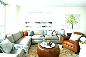 oversized tufted ottoman coffee tables living room cute round table