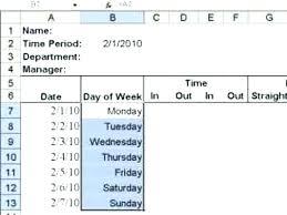Make Calendar In Excel How To Make Calendar In Excel How To Create A Weekly Hour Calendar