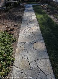 Hooper's Creek Flagstone Path
