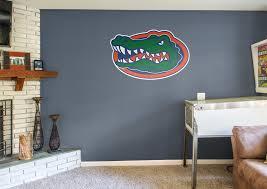 famous florida gator wall art throughout florida gators logo wall decal gallery 14 of 15