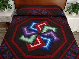 Star Spin Quilt -- marvelous ably made Amish Quilts from Lancaster ... & Amish Star Spin Quilt Photo 1 ... Adamdwight.com