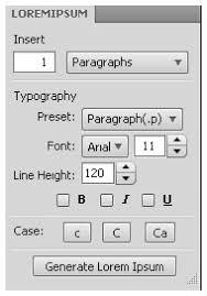 Ipsum Typographers Professional Lorem For Generator Bnq5qI