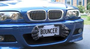Number Plate Frame Design Bouncer Bumper Protector Is A Replacement License Plate