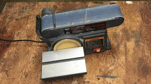 craftsman belt and disc sander. repairing a belt/disc sander craftsman belt and disc