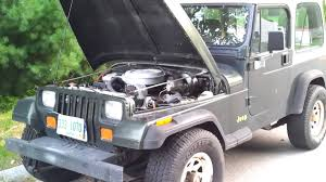 1995 jeep wrangler yj with chevy tbi 350 youtube painless wiring harness jeep yj at 1990 Jeep Wrangler Wiring Harness