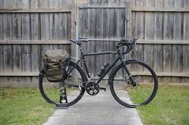 Fuji Tread With Ortlieb Pannier Bicycling Pinterest Panniers