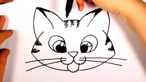 Small Picture How To Draw A Cute Kitten Face Tab Cat Face Drawing Cc Costin