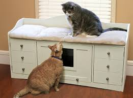 corner cat litter box furniture. We Know How Hard It Is To Find Pet Furniture That Both Functional And Looks Great. With The Sauder Bench, You Can Hide Your Cat\u0027s Litter Box Corner Cat