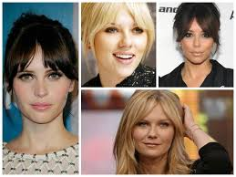 Best Hairstyle For Large Nose 25 Best Ideas About Center Part Bangs On Pinterest Parted Bangs