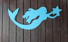 delightful design mermaid wood wall art stylish ideas wood wall for mermaid wood wall art