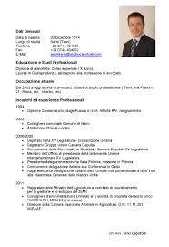 Ideas Of Curriculum Vitae Formato Pdf Mexico For Your Modelo De