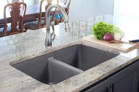 kitchen sinks for granite countertops kitchen sink granite graphite molded sink granite sink options quartz stone composite kitchen sinks replacing kitchen