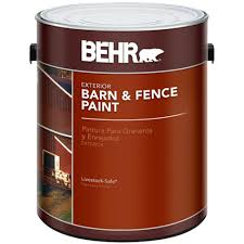 behr exterior paint home depot. Plain Paint BEHR 1 Gal Red Barn And Fence Exterior Paint To Behr Home Depot U