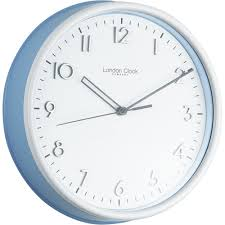 mesmerizing kitchen wall clock blue cm ec