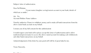 authorization letter templates 3rd party bank of america third