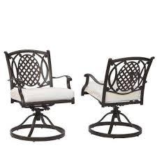 outdoor metal chair. Belcourt Custom Swivel Rocking Metal Outdoor Dining Chair