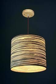 Veneer Lamps Wood Lamp Shade Lampshade Series Shades Diy Wooden Light