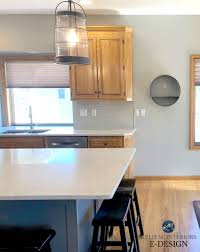 Light Grey Kitchen Walls With Oak Cabinets The 15 Best Paint Colours To Go With Oak Or Wood Trim